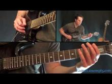 Embedded thumbnail for Metallica - One Guitar lesson